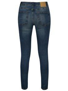 Modré slim fit džíny s potrhaným efektem Noisy May Lucy