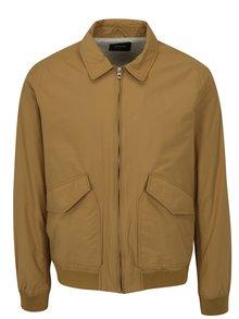Světle hnědá bunda Burton Menswear London