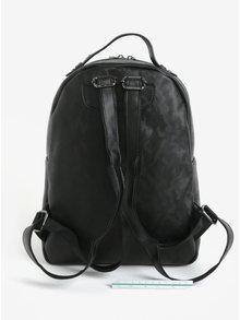 Čierny batoh s maskáčovým vzorom Claudia Canova Piper