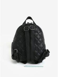 Čierny prešívaný batoh Claudia Canova Hope