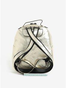 Metalický batoh v zlatej farbe Claudia Canova Damsel