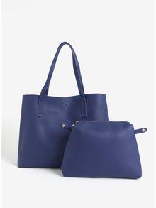 Modrý shopper s pouzdrem Claudia Canova Ophelia