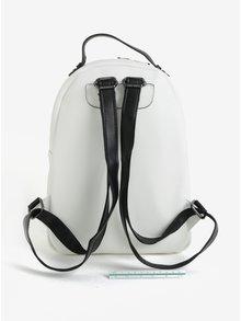 Čierno-krémový batoh Claudia Canova Adrianna