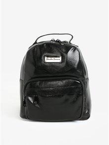 Čierny malý lesklý batoh Claudia Canova Damsel