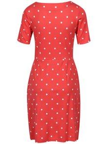 Červené bodkované šaty Tom Joule Beth