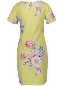 Žlté kvetované šaty Tom Joule Riviera Print