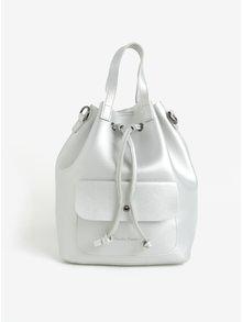 Rucsac/geanta bucket argintie Claudia Canova Gaya