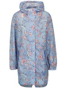 Modrý dámsky kvetovaný pršiplášť Tom Joule Golightly