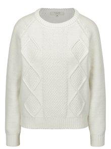 Krémový sveter Selected Femme Kasia