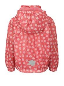 Růžová holčičí lehká puntíkovaná bunda Blue Seven