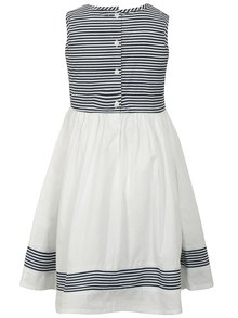 Modro-biele pruhované šaty Blue Seven