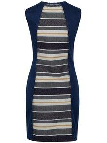 Tmavomodré rifľové šaty Desigual No Sleep
