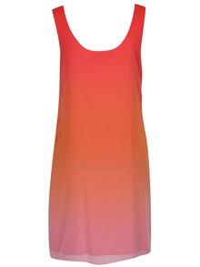 Oranžovo-růžové šaty Desigual Fresa