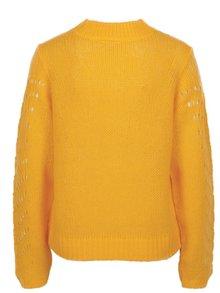 Žlutý vzorovaný svetr Noisy May Tabby