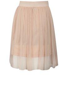 Svetloružová dievčenská tylová sukňa Blue Seven