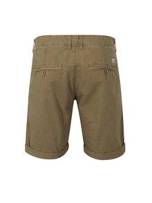 Pantaloni scurti chino maro cu terminatie rasucita - Blend