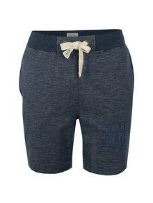 Pantaloni scurti sport albastru melanj - Blend