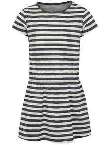 Bielo-modré pruhované šaty name it Velvet