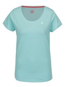 Světle modré dámské tričko s krátkým rukávem LOAP Blair