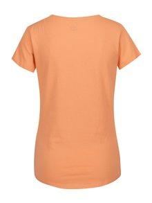 Marhuľové dámske tričko s krátkym rukávom LOAP Blair
