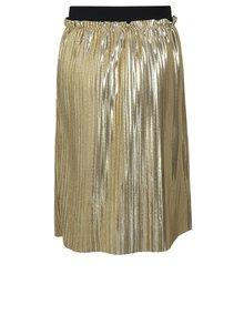 Plisovaná sukňa v zlatej farbe neme it Filia