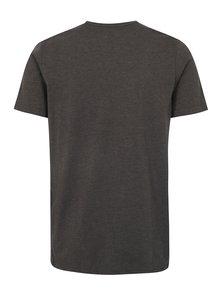 Sivé pánske melírované tričko LOAP Babar