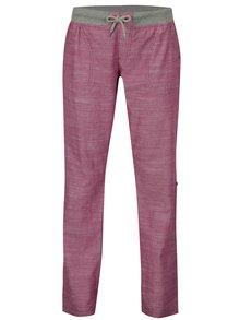Pantaloni roz melanj cu lungime ajustabila pentru femei LOAP Nadeta