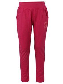 Ružové dievčenské tepláky s vreckami LOAP Irba