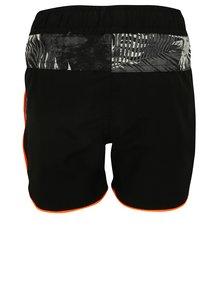 Černé klučičí plavky s havajským vzorem name it Mzoni