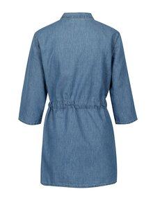Kimono albastru din denim VILA Liama