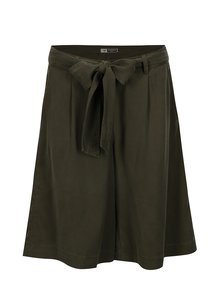 Fusta pantalon verde inchis cu cordon si buzunare - BUSHMAN Etotulga