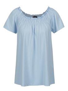 Modré tričko s krátkym rukávom Yest