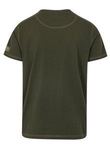 Tmavě zelené pánské tričko BUSHMAN Caredo