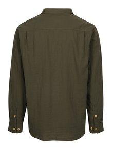 Tmavozelená pánska košeľa BUSHMAN Seadrift