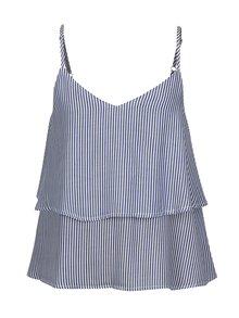 Modro-biele dievčenské pruhované tielko LIMITED by name it Simona
