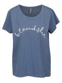 Tricou albastru cu print Blendshe Cute