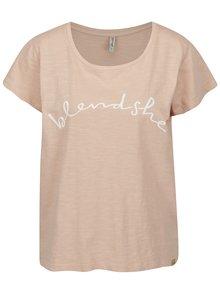 Tricou roz prafuit cu print Blendshe Cute