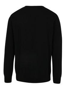 Čierny sveter so vzorom Dedicated Scarface