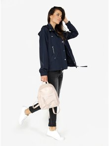 Světle růžový koženkový batoh ZOOT