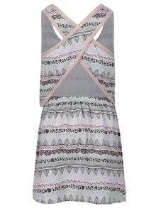 Ružovo-krémové dievčenské šaty tuc tuc Jersey
