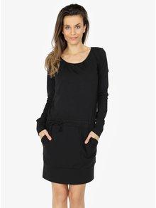 Černé šaty s dlouhým rukávem ZOOT