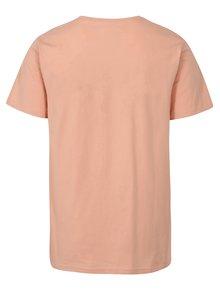 Ružové tričko s potlačou Dedicated Drone Love