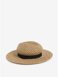 Čierno-béžový trblietavý klobúk Dorothy Perkins