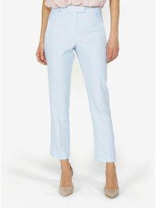 Pantaloni cropped bleu cu talie inalta - Miss Selfridge