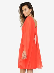 Červené šaty s voľnými rukávmi VERO MODA Hannah
