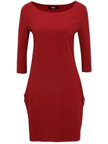 Červené šaty s kapsami ZOOT