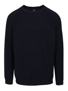 Pulover bleumarin basic  Burton Menswear London