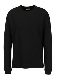 Bluza basic neagra cu decolteu rotund Noisy May Lucky