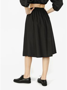 Čierna sukňa VERO MODA Ladina