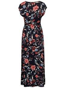 Rochie maxi bleumarin cu print floral Dorothy Perkins